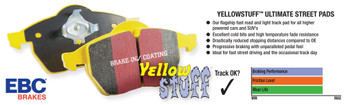 EBC Yellowstuff brake pad compound: Is it right for my Corvette?