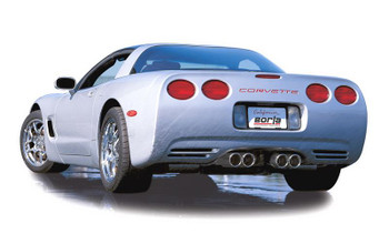 1997-2004 Corvette Cat Back exhaust system by Borla S-Type