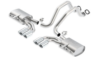 Borla 140428 ATAK cat-back exhaust system for 1997-2004 Corvette C5