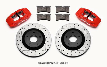 1997-2013 Corvette front brake caliper and rotor replacement set, Wilwood 140-15175DR