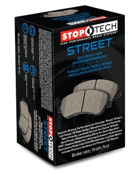 308.10010 StopTech Street brake pad set for Chevrolet Corvette C7 2014-2019 Front brakes