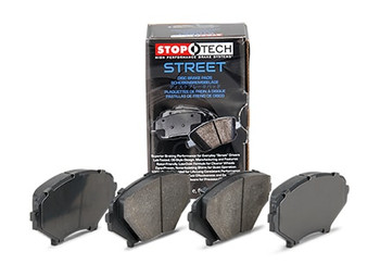 StopTech 308.07310 2005-2013 Corvette front brake pads for C6 base models