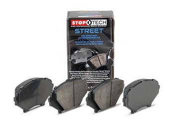 StopTech Street rear brake pads fit all 2005-2013 C6 Corvette except Z06/ZR1/Grand Sport/J51