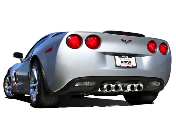 Borla Cat-Back Corvette C6 exhaust system, S-Type II, from Vette Lab Corvette Parts and Accessories