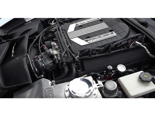 Nitrous Outlet wet nitrous kit installed on Corvette C7 Z06 LT4 engine