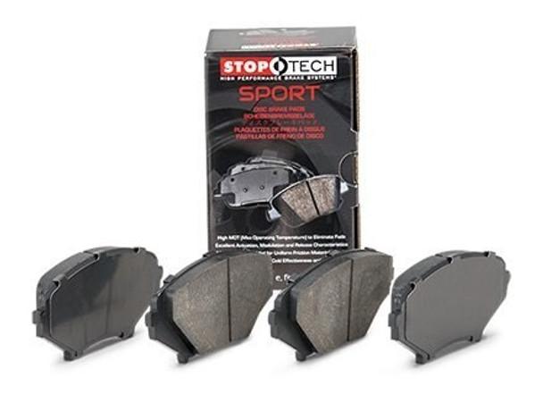 StopTech Sport 309.10010 2014-2019 Corvette C7 front brake pads for base Stingray JL9