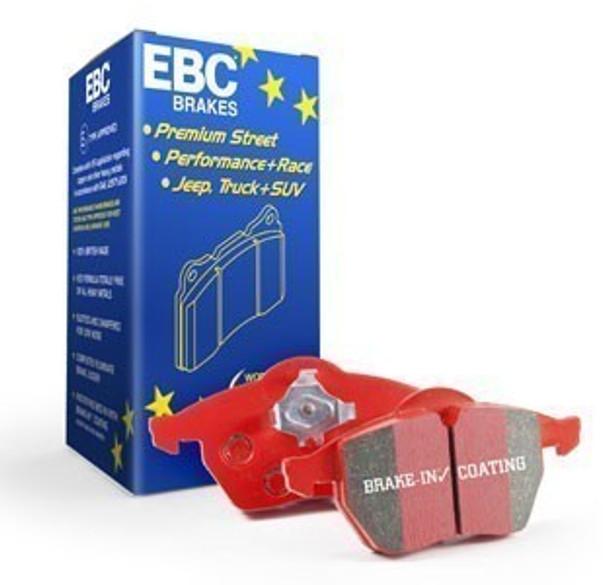 EBC Front Brake Pads, Redstuff for Corvette Z06 and Grand Sport J56 Brake Package