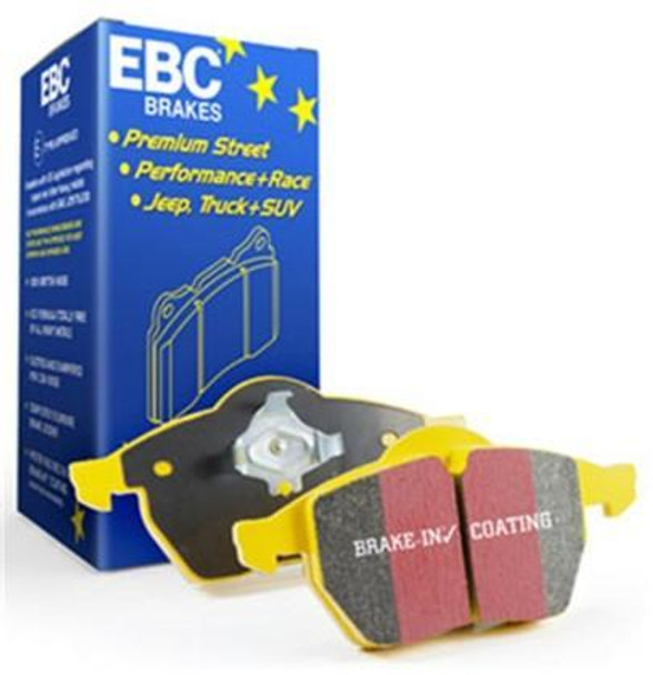 EBC Yellowstuff brake pads for C7 Corvette 2014-2019
