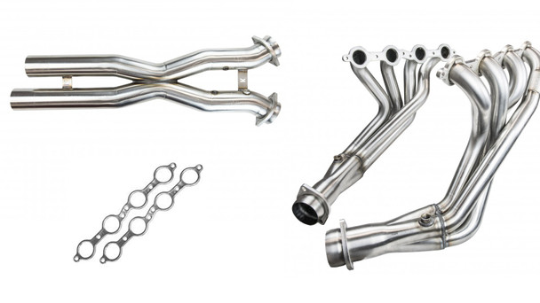 Kooks header, X-pipe and gasket package for C6 Corvette 2006-2008
