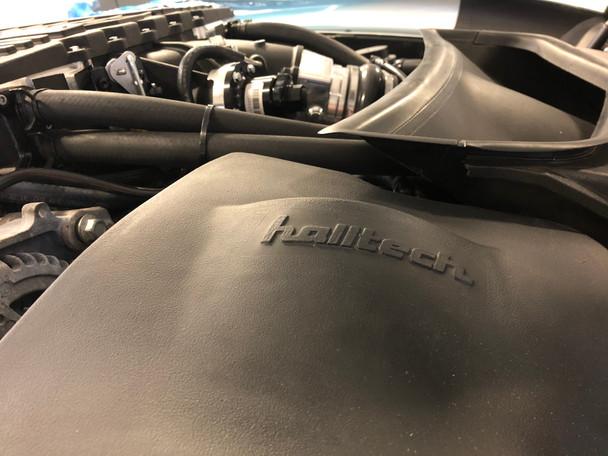 Halltech Stinger RZ Cold Air Intake installed on a 2018 Corvette Z06