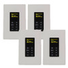 NV-E6GCP-DC-4PK NuVo 1 Inch OLED Control Pad Decora Style - 4 Pack