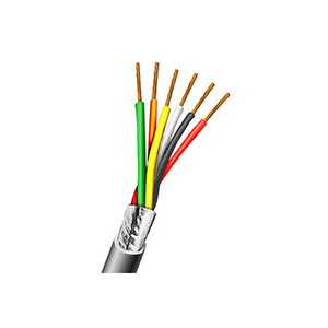 82220650C AIPHONE 6 Conductor 22AWG Overall shield 500'