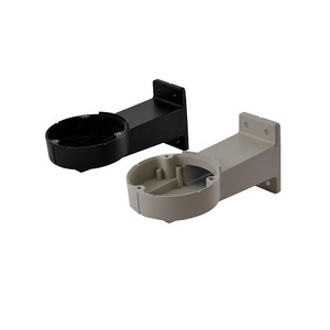 UEBWFA Videotec Wall Bracket with Internal Cable Channel - Black