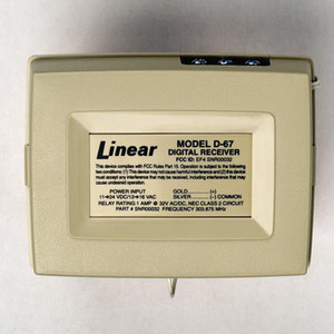 D-67F Linear 1-Channel Alternating Relay Receiver