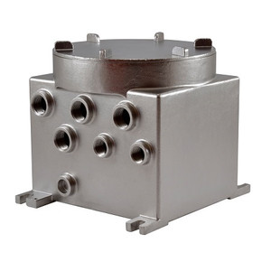 MBX3MAA Videotec Explosion-Proof Communication Box in Stainless Steel