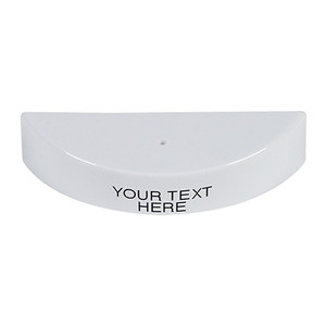 KIT-M06540-CW STI Replacement Hood with Non-Returnable Custom Text Label English - White