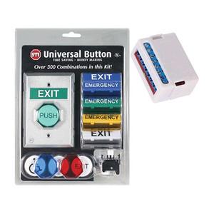 UB-1LTUL STI Universal Button with Latching Timer