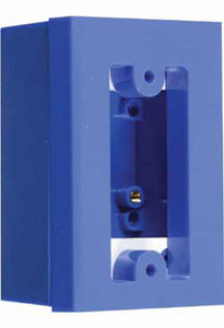KIT-71101A-B STI Back box and Spacer Kit for Switch Configuration 0, 3 and 4 - Blue