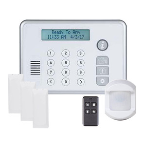 2GIG-RELY-KIT1 2GIG Rely 3-1-1 Kit with 3 x Wireless Door/Window Sensors 1 x Wireless PIR Motion Detector and 1 x Wireless Keychain Remote - Avantguard Central Station Only