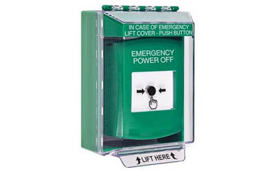 Emergency Power Off Global Reset Buttons