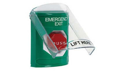 Emergency Exit Buttons