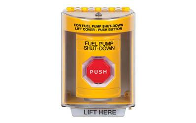 Fuel Pump Shut-Down Buttons