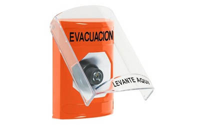 Spanish Evacuation Buttons