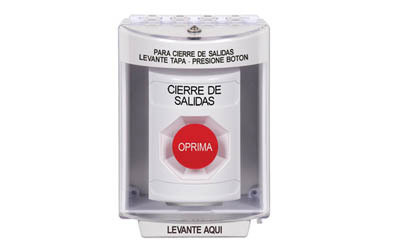 Spanish Lockdown Buttons