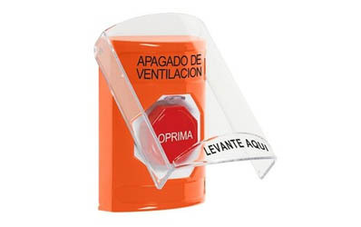 Spanish HVAC Buttons