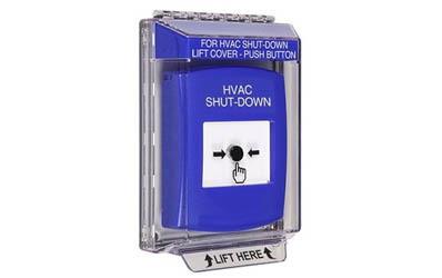 HVAC Shut-Down Global Reset Buttons