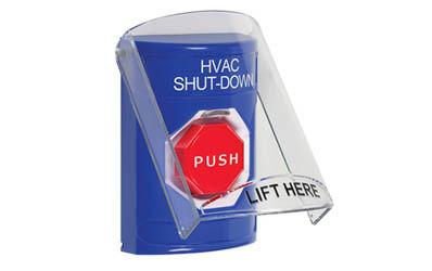 HVAC Shut-Down Buttons