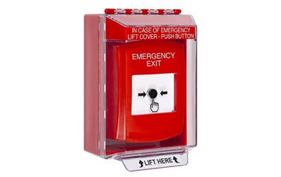 Emergency Exit Global Reset Buttons