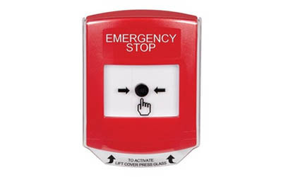 Emergency Stop Global Reset Buttons