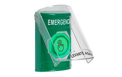Spanish Emergency Buttons