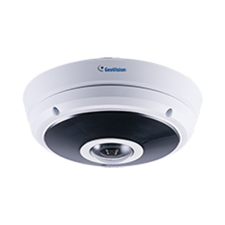 GV-EFER3700 Geovision 1.24mm 30FPS @ 2048 x1536 Outdoor IR Day/Night WDR Fisheye IP Security Camera 12VDC