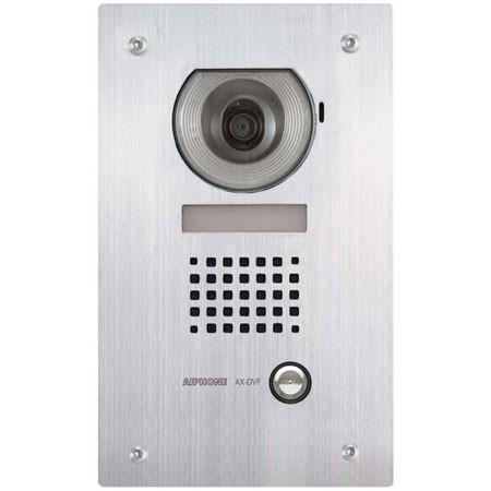 AX-DVF AIPHONE Flush Vandal Video Door Station and Stainless Steel Faceplate