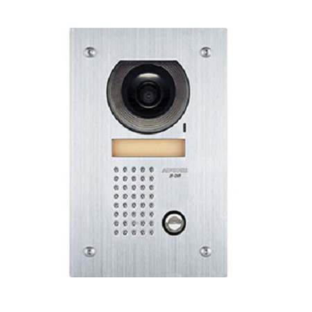JF-DVF Aiphone JF Flush Mount Color Vandal Door Station  - Stainless Steel