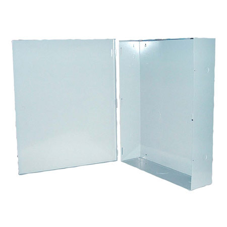 """BW-102G Mier NEMA Type 1 Indoor 20"""" W x 24"""" H x 5"""" D Metal Electrical Enclosure - Gray"""