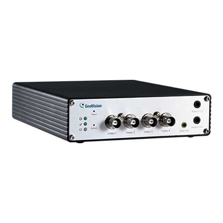 84-VS24010-001U Geovision GV-VS2401 4 Channel HD-TVI/AHD and 960H Video Server 60FPS @ 5MP