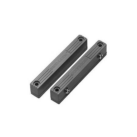 SM-216Q/GY Seco-Larm Surface Mount N.C. Magnetic Contact w/ Screw Terminals - Gray