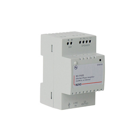 NV-P600 NuVo Din Rail Player - No Power Adapter