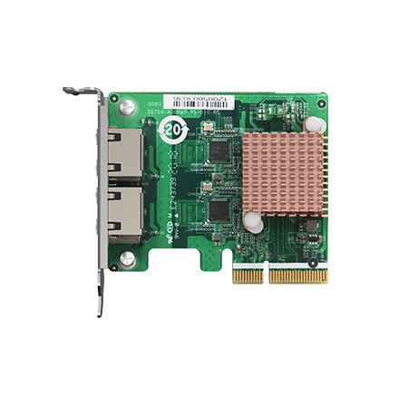 QXG-2G2T-I225 QNAP Dual Port 2.5GbE 4-Speed Network Card