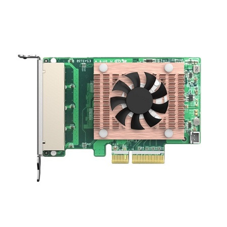 QXG-2G4T-I225 QNAP Quad Port 2.5GbE 4-Speed Network Card