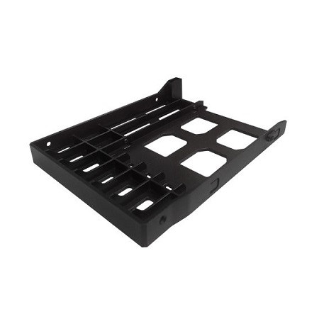 "TRAY-35-BLK02 QNAP 3.5"" HDD Tray with Key Lock and Two Keys - Black"