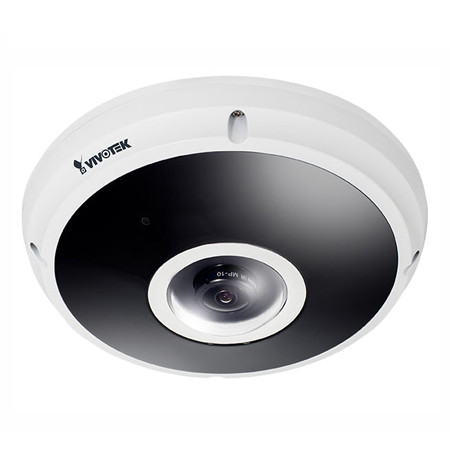FE9382-EHV-V2 Vivotek 1.24mm 30FPS @ 2048 x 2048 Outdoor IR Day/Night WDR Fisheye Panoramic IP Security Camera 12VDC/PoE - Extreme Weather