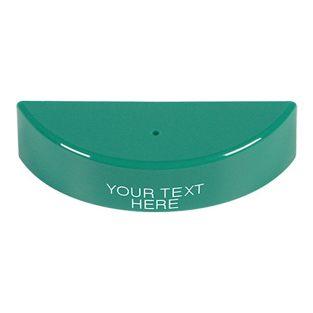 KIT-M06540-CG STI Replacement Hood with Non-Returnable Custom Text Label English - Green