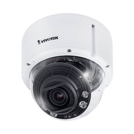 FD9392-EHTV-O Vivotek 3.9~10mm Motorized 30FPS @ 8MP Outdoor IR Day/Night Dome IP Security Camera 12VDC/24VAC/PoE