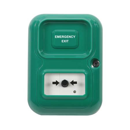 AP-1-G-I STI Alert Point Stand Alone Alarm System - Emergency Exit - Green