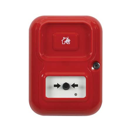 AP-1-R-A STI Alert Point Stand Alone Alarm System - House/Flame Icon - Red