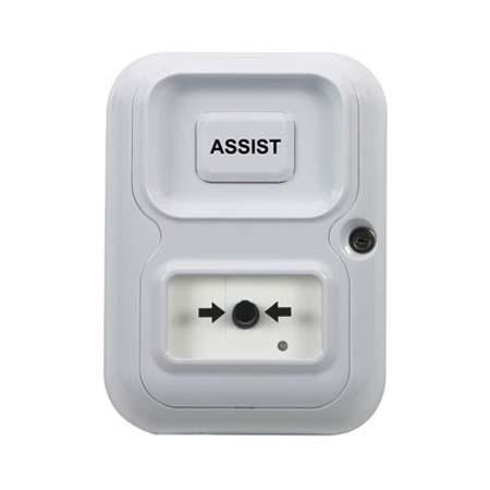 AP-1-W-F STI Alert Point Stand Alone Alarm System - Assist - White